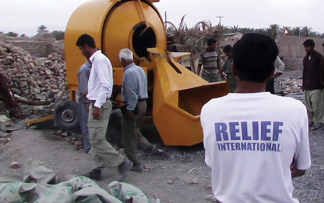 Relief International programs support Afghan refugees in Iran. RI