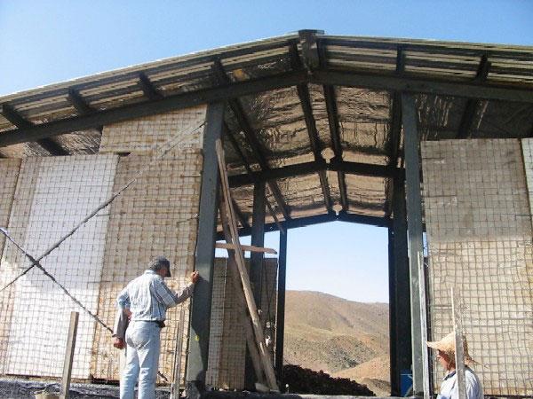 Relief International reconstructs and equips a demolished school in Avanak village. RI
