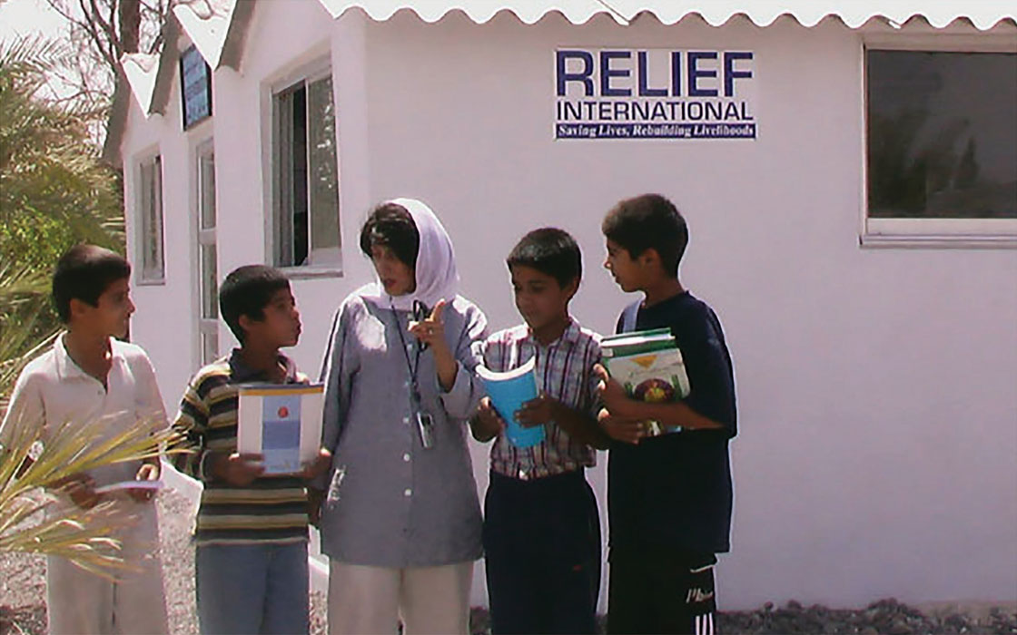Relief International in Iran