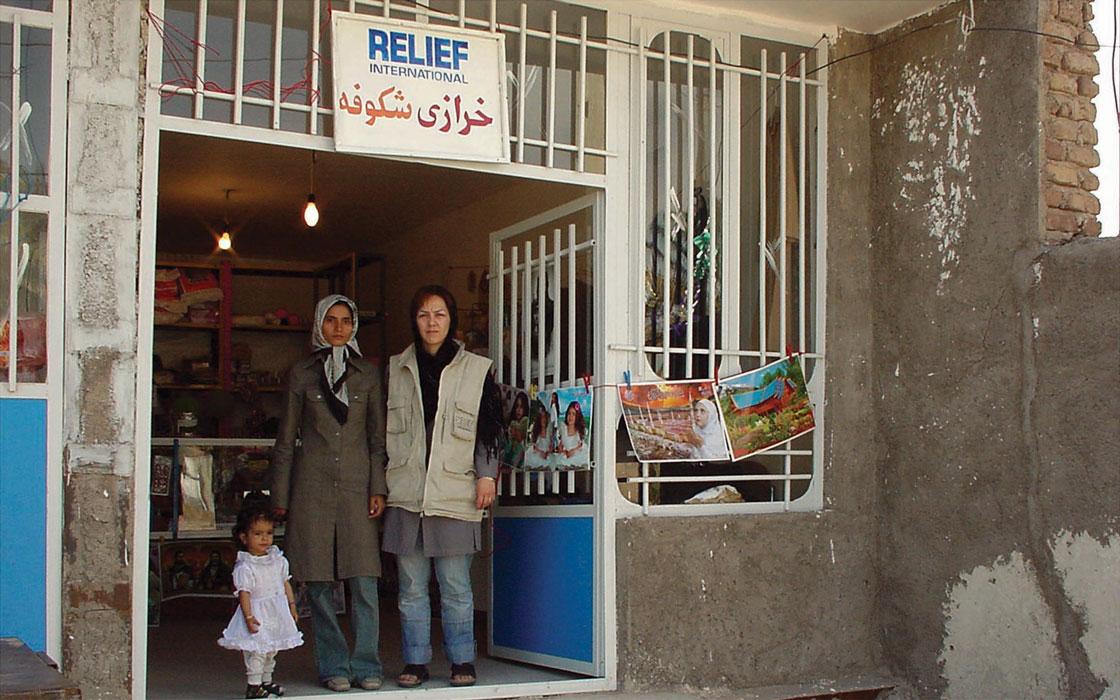 Relief International in Iran