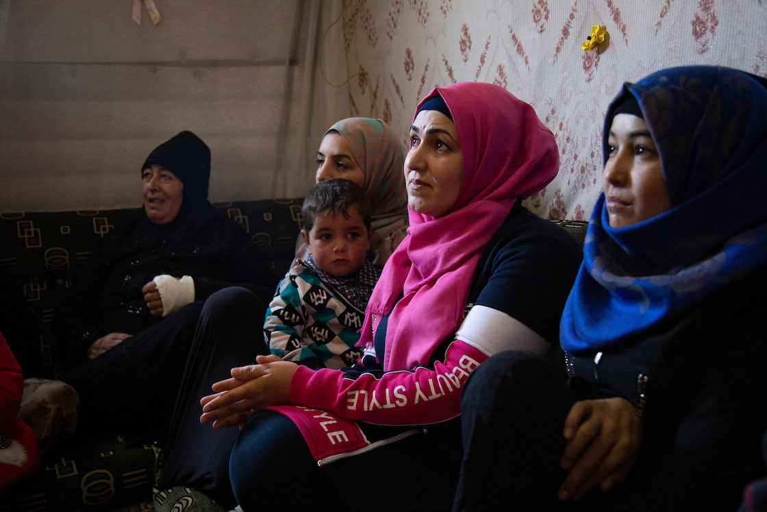 A mental health awareness session in Arsal, Lebanon. Elie Gardner/RI