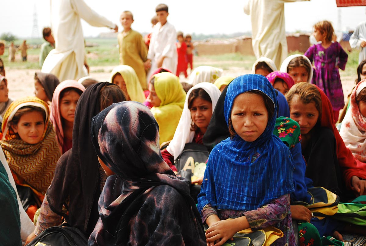 Afghan Refugees in Iran. Hashoo Foundation/Flickr