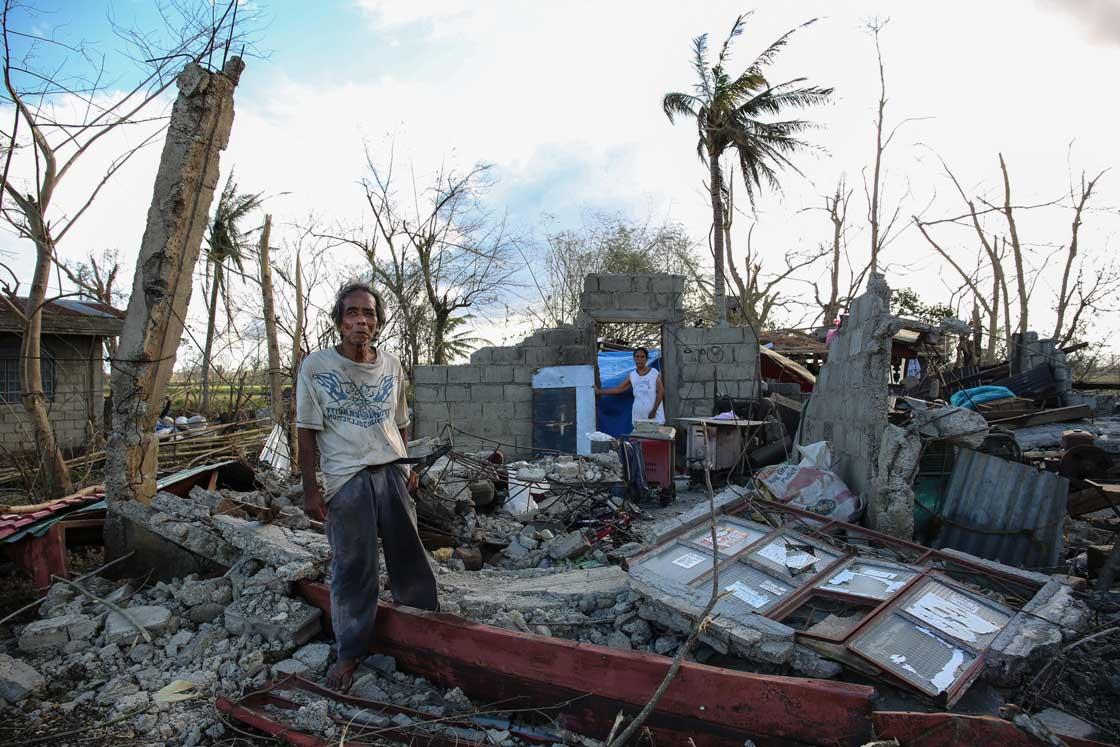 The aftermath of Typhoon Mangkhut. Lynzy Billing/RI