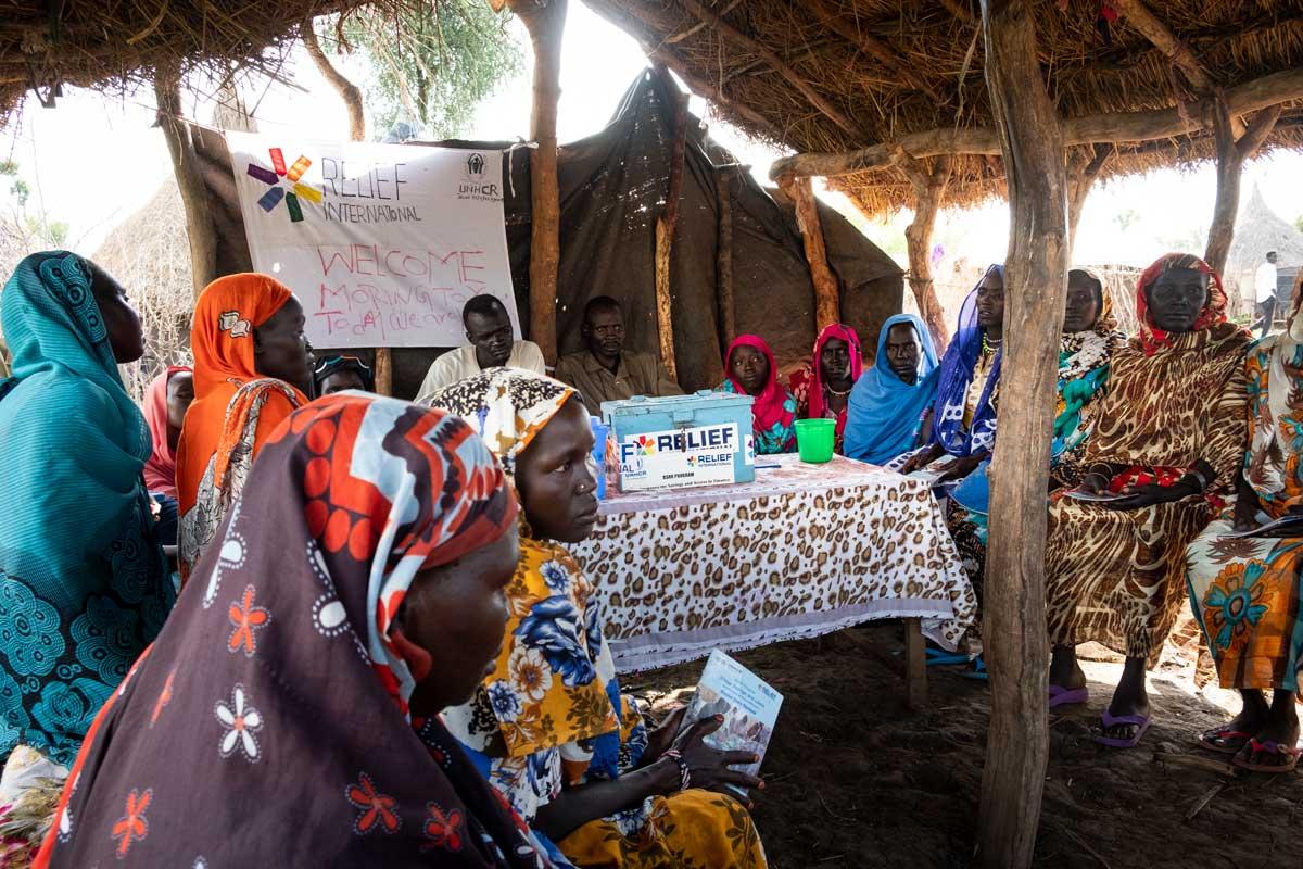 South Sudan. Elie Gardner/RI