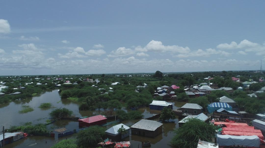 Somalia Floods Overhead